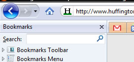 Mozilla bookmarks sidebar